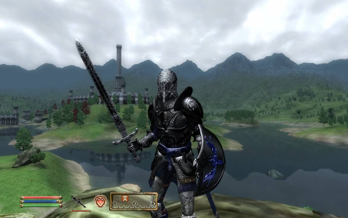 Доспехи чёрного рыцаря